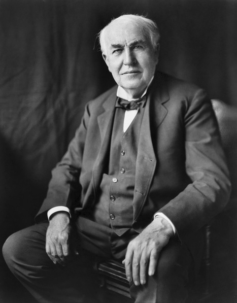 Thomas Edison and developing a culture of creativity | Making #love and making personal #branding #leadership | Scoop.it