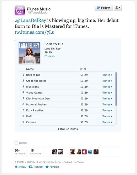 Twitter's Guide to Maximizing the Artist Tweet... | MUSIC:ENTER | Scoop.it