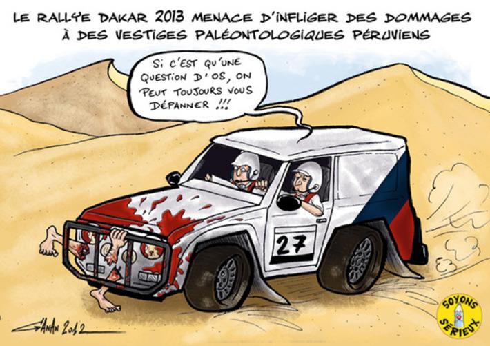 Dakar 2013 : il y a déjà un os | Baie d'humour | Scoop.it