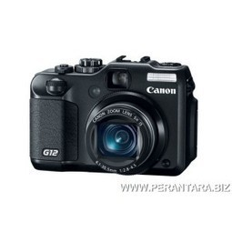 Kamera Digital Canon PS G12 - 10 Million Effective Pixels, ISO 3200 | rajakabel | Scoop.it
