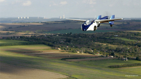Silicon Valley can keep its Teslas and robotic cars: Slovakia's AeroMobil just unveiled a flying car   Robolution Capital   Scoop.it