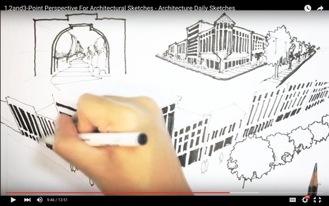 Need HELP With Basic Sketching Techniques? Let These Videos Teach You | The Architecture of the City | Scoop.it