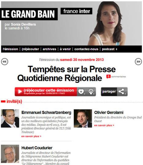 Tempêtes sur la Presse Quotidienne Régionale   DocPresseESJ   Scoop.it