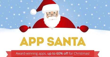 App Santa Brings Deep Discounts to Top iOS Apps | Daring Apps, QR Codes, Apps, Gadgets, Tools, & Displays | Scoop.it