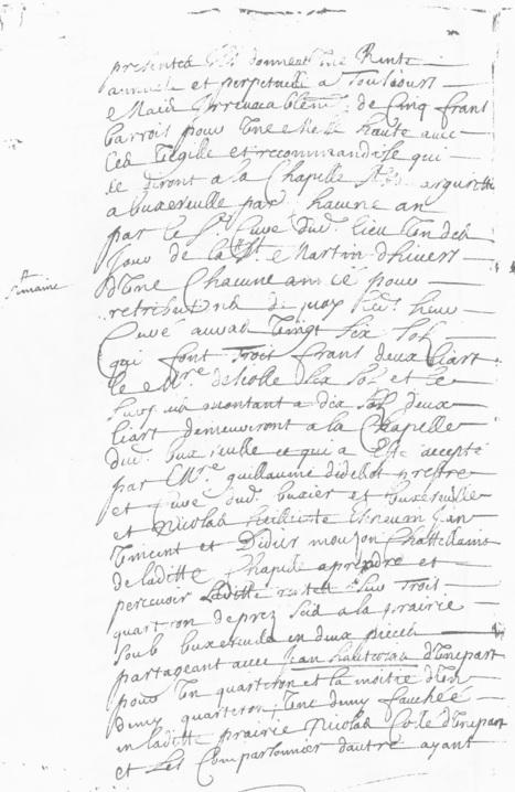MesRacinesFamiliales: Contrat de fondation de messes - Hommage à Michel Viard 3/4   Rhit Genealogie   Scoop.it