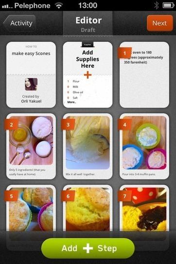 En la nube TIC: Crear sencillos tutoriales de paso a paso con #Snapguide | Educacioaunclic | Scoop.it