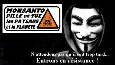 ANONYMOUS: Avec Monsanto, les hackeurs prennent la situation à coeur | Equitable & durable | Scoop.it