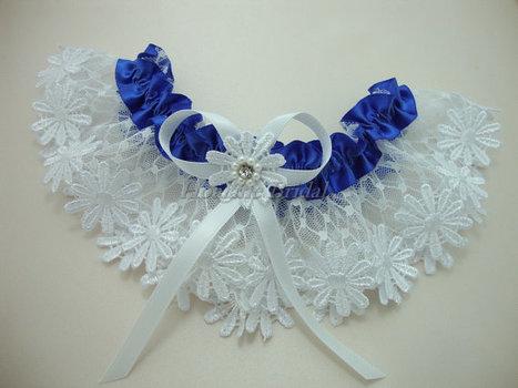 Garter, Daisy lace garter, Bridal garter | Wedding Garters | Scoop.it