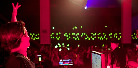 Booka Shade Create Smartphone Orchestra With Fans | music innovation | Scoop.it