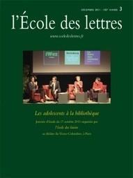 Les adolescents à la bibliothèque « Le Blog de l'École des lettres | Lecture Jeunesse | Scoop.it