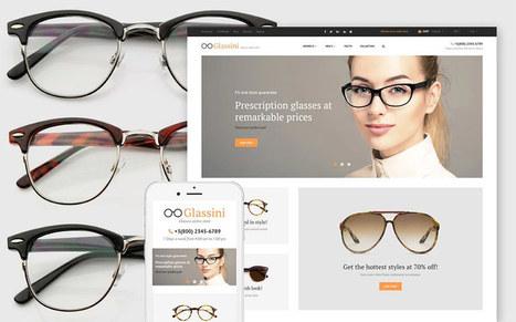 Glassini Fully Responsive Magneto Theme for Online Optical and Eye Glasses Store   platinastudio   Scoop.it
