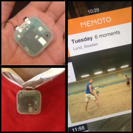Meet Memoto, the Lifelogging Camera - New York Times (blog) | Photo Imaging | Scoop.it
