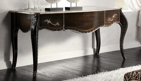 Mobilusso Furniture Handmade furniture & Antiques & Interior design -Tables | Luxury Reproduction French antique furniture | Scoop.it