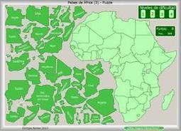 Mapa interactivo de África Países de África. ¿Dónde está? Enrique Alonso | Un poco del mundo para Colombia | Scoop.it
