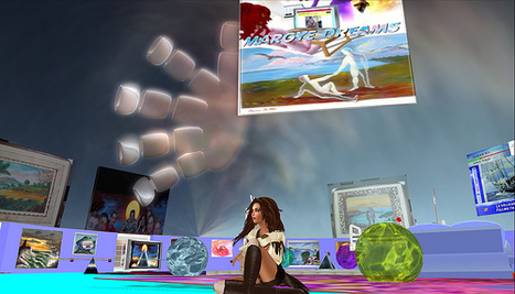 Kara's Korner, Second Life Adventures: Art And Poetry Project Now through February 19,2012 | writing | Scoop.it