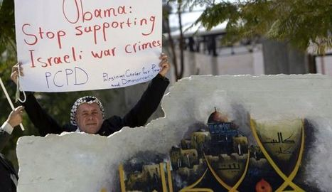 Open your eyes Obama and see the protests | Occupied Terretories in Palestine | Scoop.it