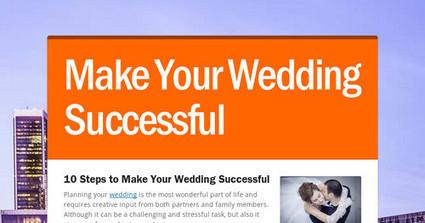 Make Your Wedding Successful   voyteck   Scoop.it