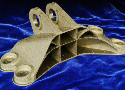Fit to Print: Jet Engine Bracket from Indonesia Wins 3D Printing Challenge | GE Reports | Additive Manufacturing News | Scoop.it