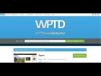 Check Which Website Use Wordpress Theme WordPress Theme Detector | General SEO | Scoop.it