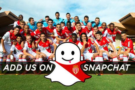 Retrouvez l'AS Monaco sur Snapchat | News | AS Monaco FC | Innovation and digital soccer | Scoop.it