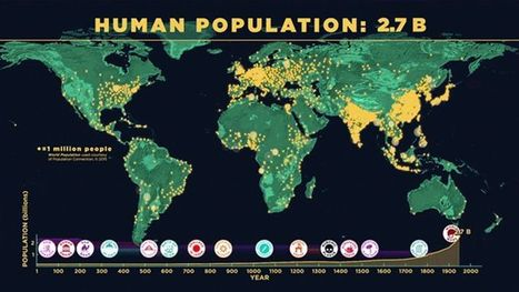 Watch How the World's Population Has Grown Over the Years | AP Human Geography | Scoop.it