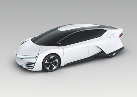 Honda FCEV : la plus aboutie des voitures à hydrogène ? | CARFUTUR.COM | Geekastuces | Scoop.it