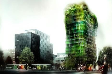 Paris : construction d'une tour recouverte de végétation | Nouveaux paradigmes | Scoop.it