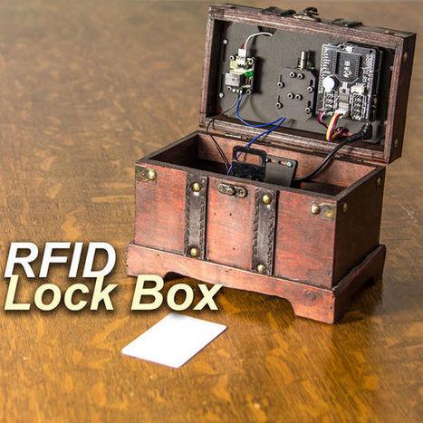 Arduino Controlled Lock Box With Solenoid and RFID | Arduino, Netduino, Rasperry Pi! | Scoop.it