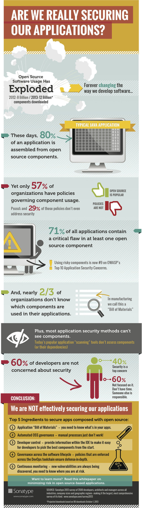 The Problem with Open Source Software {Infographic} - Best Infographics | All about Visualization & Storytelling | Scoop.it