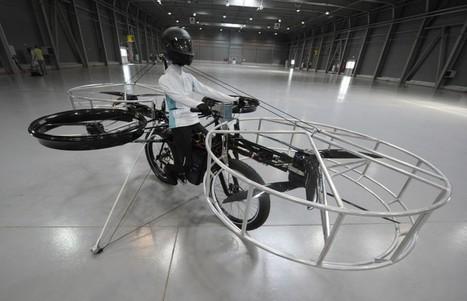 El sueño de crear una bicicleta voladora se ha hecho realidad   Deporte sostenible UNDAV   Scoop.it