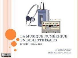 La musique numérique en bibliothèques | médiath... | Biblioteche 2.0 | Scoop.it