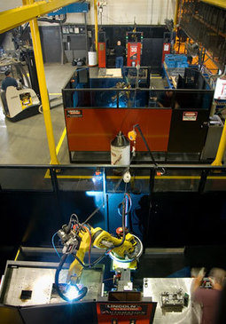 Crown Equipment Uses Robotic Welding to Increase Productivity | Lincoln Electric | Automation | Scoop.it