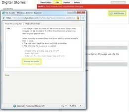 ePortfolio Help Page :: How to make a Digital Story on iMovie | Career-Life Development | Scoop.it