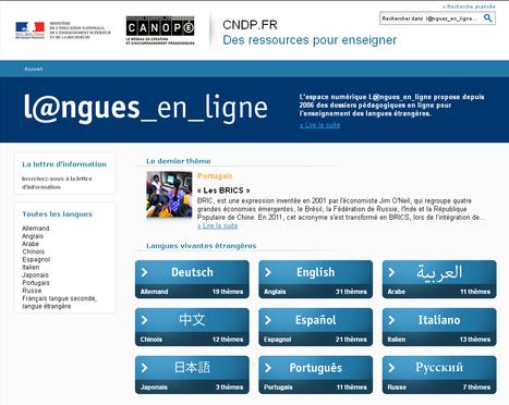 La collection bimensuelle l@ngues_en_ligne - 9 langues - 130 thèmes culturels & disciplinaires authentiques... | Cdistez vous | Scoop.it