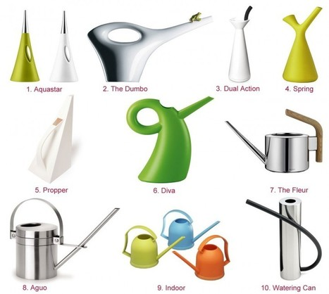 HomeDSGN Shopping: 20 Stylish Modern Watering Cans | HomeDSGN | Balcony Gardening | Scoop.it
