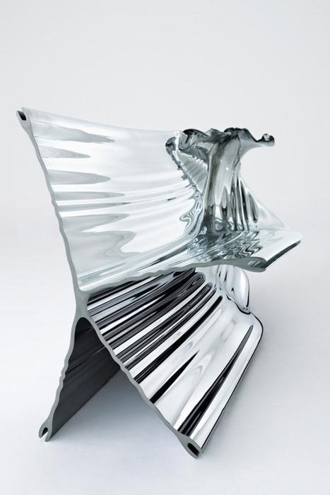 Aluminium Extrusion Bench / Heatherwick Studio - eVolo   Architecture Magazine   [THE COOL STUFF]   Scoop.it