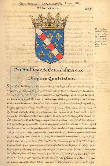 Herald Dick Magazine: Un trésor oublié : l'Armorial de La Planche - 1669 - Normandie - Bailliage d' Évreux | GenealoNet | Scoop.it