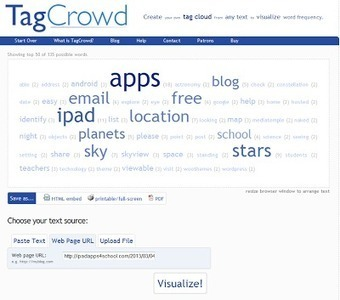 TagCrowd Offers Three Easy Ways to Make Word Clouds | iGeneration - 21st Century Education | Scoop.it