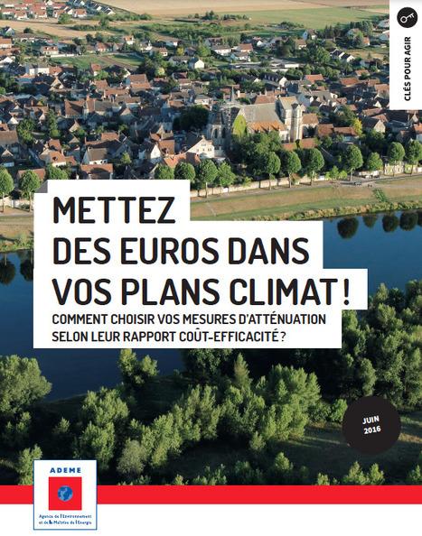 Etude ADEME « Mettez des euros dans vos plans climat ! » | D'Dline 2020, vecteur du bâtiment durable | Scoop.it