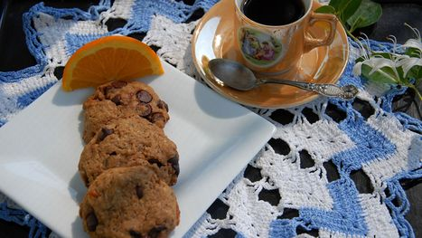 No dairy, no loss in sweet vegan Orange Cappuccino Cookies | My Vegan recipes | Scoop.it