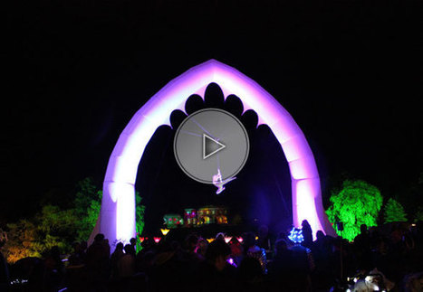 The Inflatable Aerial Ark | Solo | Aerials | Circus performers | Performers | Entertainment Agency | Corporate Event Entertainment | Spectacles, Spectacles Vivants et Animations | Scoop.it