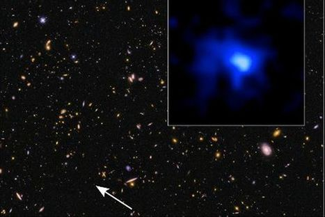 Astronomers find most distant galaxy ever | Communication design | Scoop.it