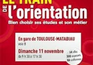 TRAIN DE L'ORIENTATION - TOULOUSE - Tourisme à Toulouse   Vivre à Toulouse   Scoop.it