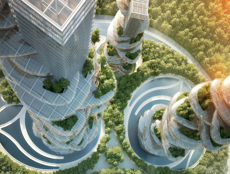 vincent callebaut architectures: asian cairns, shenzhen, china | Ébène SOUNDJATA | Scoop.it