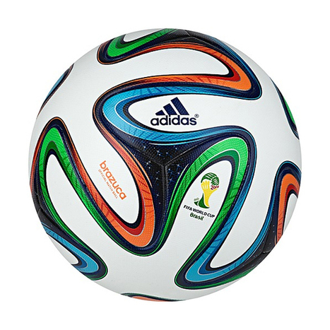 Adidas Brazuca Ball Official for the World Cup | Design Ideas | Scoop.it