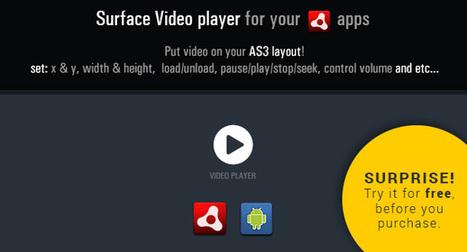 Surface Player V1.0 (Android)   Adobe Flash Platform   Scoop.it