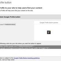 Add a Google Profile Button to Your Site | Google+ and Social Networking | Scoop.it