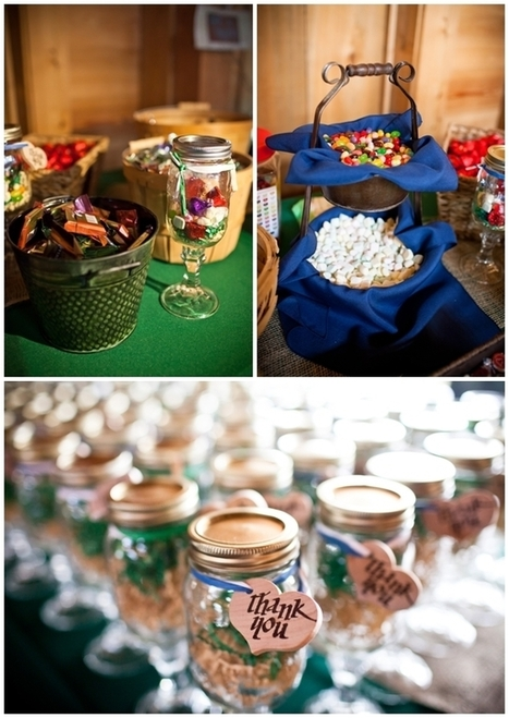 A Rustic South Carolina Wedding by An Event to Remember | The East Coast Bride | Candy Buffet Weddings, Events, Food Station Buffets and Tea Parties | Scoop.it