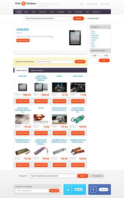 Compare Price WordPress Amazon Affiliate theme | List Site Popular | Scoop.it