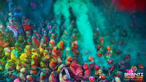 Vivre Holi, ou comment survivre à la plus grande fête de l'Inde... | Actu & Voyage en Inde | Scoop.it